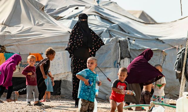 Syria: More than 60 British children trapped in northeast of country, Save the Children warns