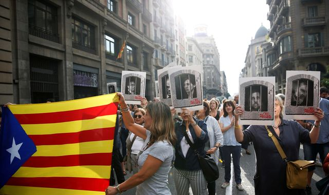 Catalonia leader jailed for 13 years over independence referendum