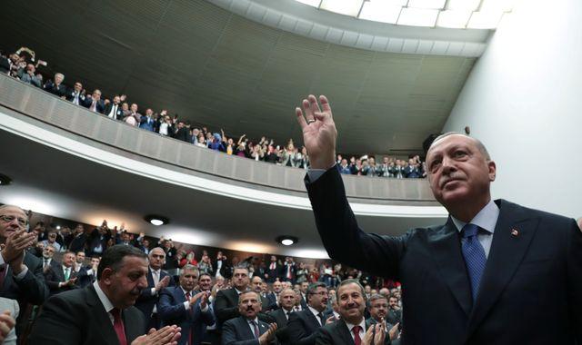 Turkey's president Erdogan to meet US delegation in Ankara