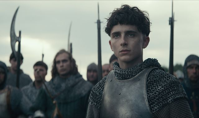 Timothee Chalamet: 'Like Trump, Henry V is insulted by anything'
