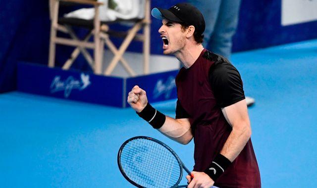 Andy Murray wins European Open title in Antwerp