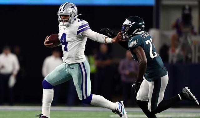 Dallas Cowboys 37-10 Philadelphia Eagles: Dak Prescott and Ezekiel Elliott star in victory