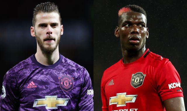David de Gea and Paul Pogba both miss Manchester United trip to Belgrade