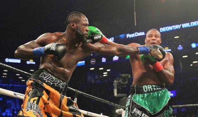 Deontay Wilder on Luis Ortiz rematch: 'Don't blink!'