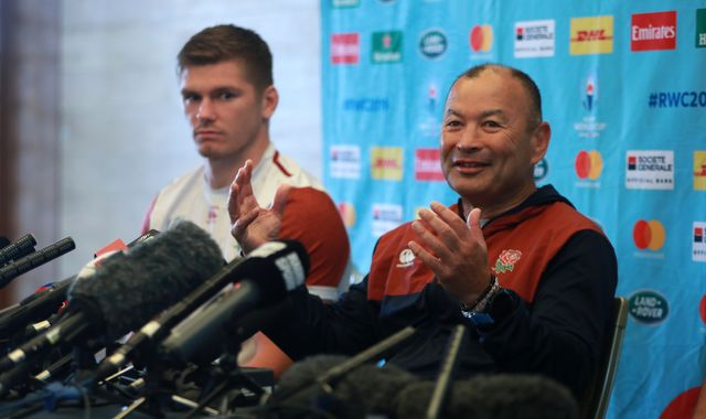 Eddie Jones claims England training was spied on before All Blacks semi-final
