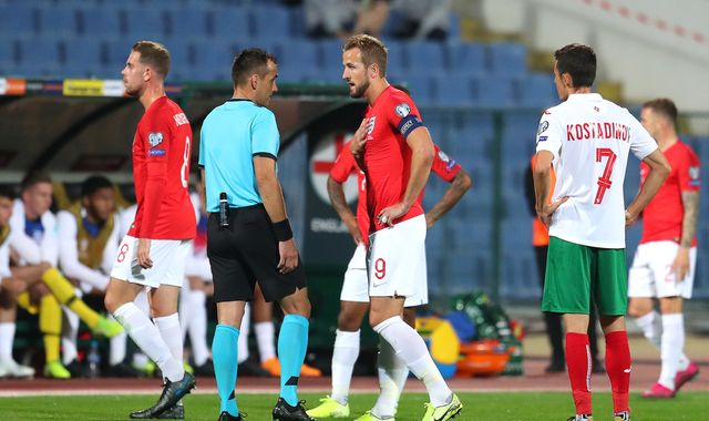 England players suffer racist abuse in Bulgaria