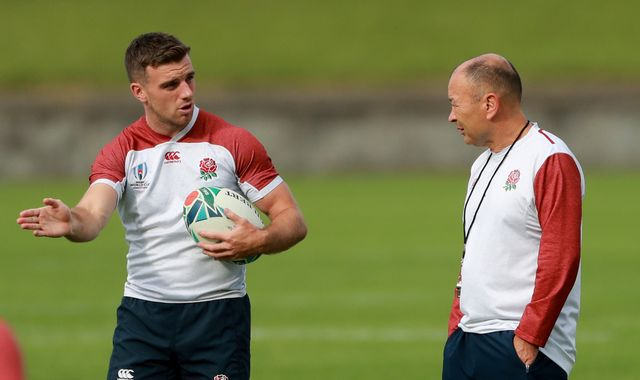 Rugby World Cup: Eddie Jones springs England 'surprise' with George Ford benched vs Australia