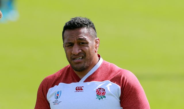Mako Vunipola out of England's Six Nations match against Ireland