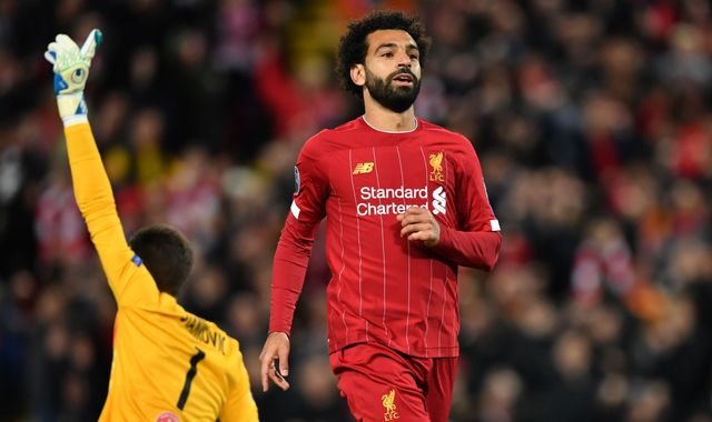 Mohamed Salah and Andrew Robertson set to miss Liverpool's trip to Crystal Palace