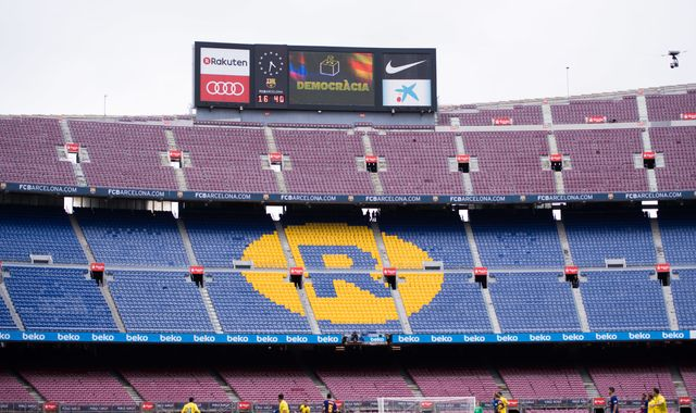 Barcelona vs Real Madrid postponed amid Catalonia tensions