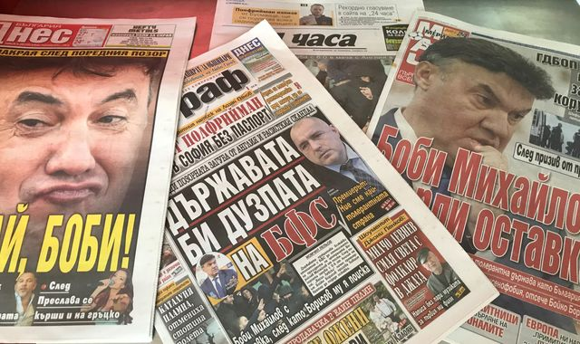 Bulgarian football suffered 'most turbulent 48 hours in history', says local journalist