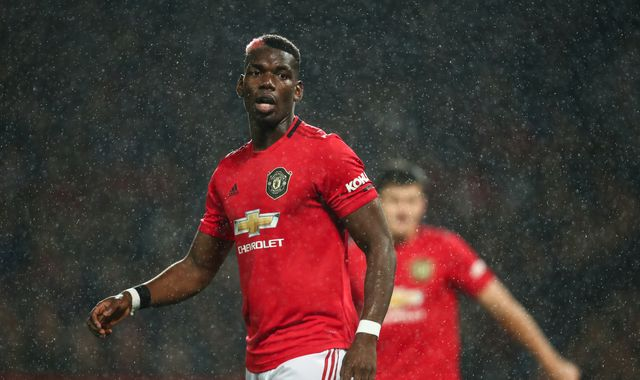 Paul Pogba and David de Gea out of Manchester United vs Liverpool