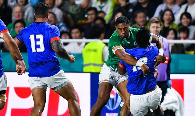 Bundee Aki: Ireland centre has Rugby World Cup ban upheld
