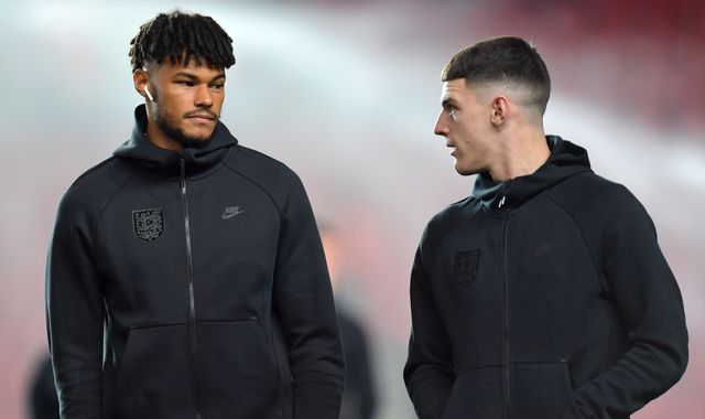 Tyrone Mings set to make England debut against Bulgaria