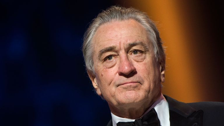 US actor Robert de Niro looks on as he receives a Tribute award during the 17th Marrakech International Film Festival on December 1, 2018. (Photo by FADEL SENNA / AFP)        (Photo credit should read FADEL SENNA/AFP/Getty Images)