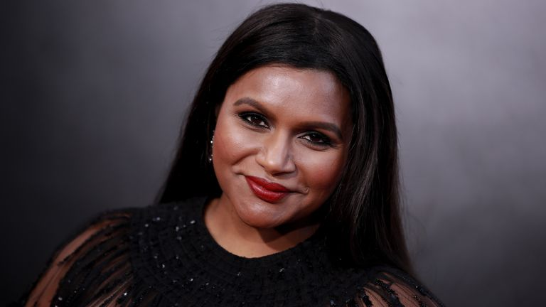 "LOS ANGELES, CALIFORNIA - MAY 30: Mindy Kaling attends the premiere of Amazon Studio's ""Late Night"" at The Orpheum Theatre on May 30, 2019 in Los Angeles, California. (Photo by Rich Fury/Getty Images)"
