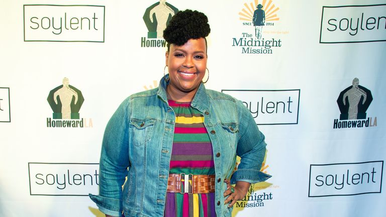 HOLLYWOOD, CALIFORNIA - APRIL 23: Writer and actress Natasha Rothwell attends a celebrity live reading to benefit homeless charities hosted by The Midnight Mission and Homeward LA at the American Cinematheque's Egyptian Theatre on April 23, 2019 in Hollywood, California. (Photo by Amanda Edwards/Getty Images)