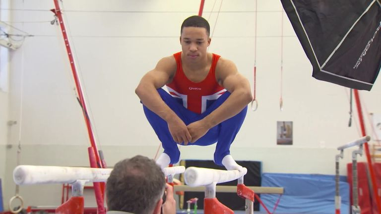 Joe Fraser is dreaming of being Olympic Champion in Tokyo