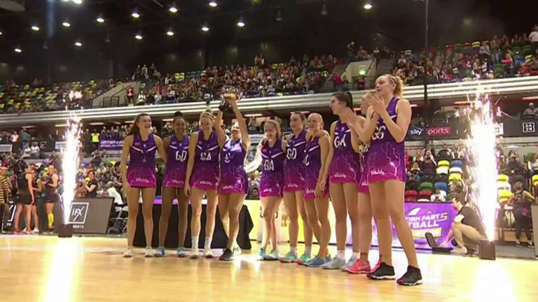 Watch the highlights of the Fast5 final between Loughborugh Lightning and Wasps