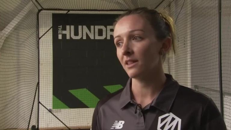 Manchester Originals' Kate Cross says The Hundred will give women the perfect platform to showcase their skills