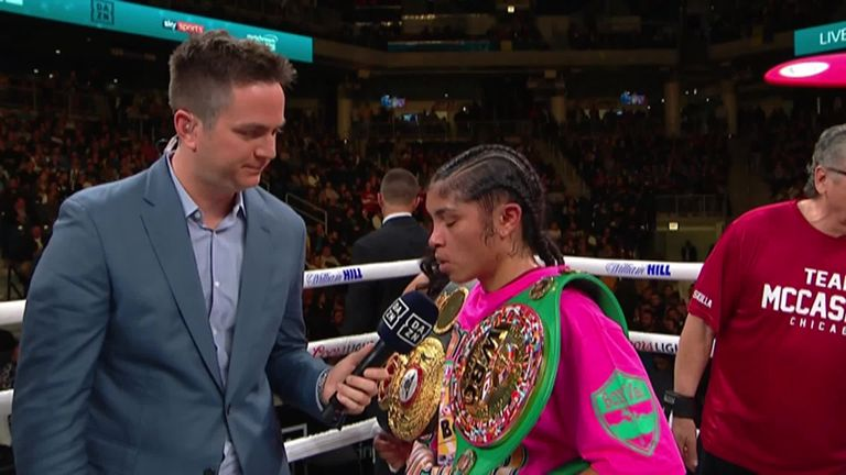 Usyk vs Witherspoon: Jessica McCaskill called for Katie Taylor rematch after beating Erica Farias   Boxing News  