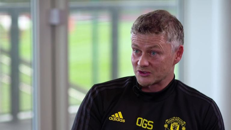 Ole Gunnar Solskjaer tells Gary Neville he's positive about the future at Manchester United