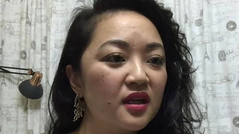 Tracking specialist Mimi Vu