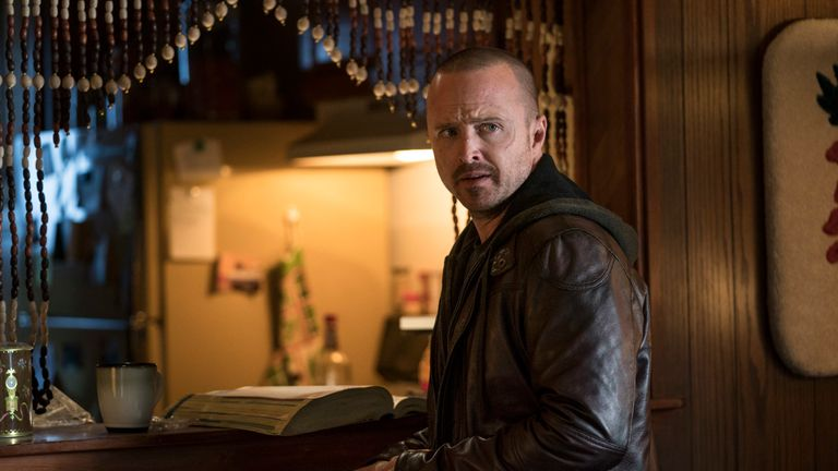 El Camino: A Breaking Bad Movie: Aaron Paul as Jesse Pinkman. Pic: Ben Rothstein / Netflix
