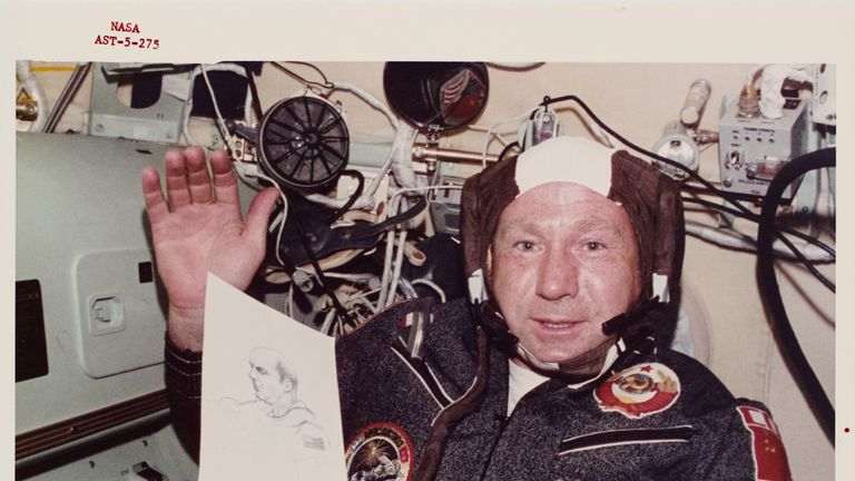 'Legendary cosmonaut': First person to walk in space dies aged 85