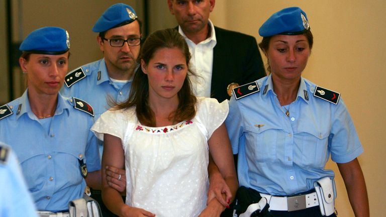 Amanda Knox was initially convicted of the 2007 murder of a British student