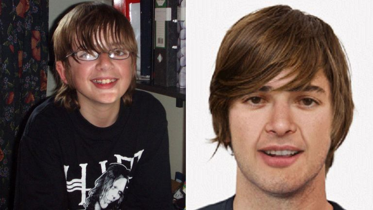 Andrew Gosden went missing in 2007 aged 14. Police have released an age-progression photo of what he would look like now