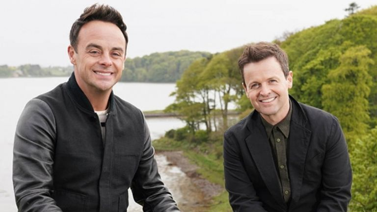 Ant and Dec are tracing their family histories in new show Ant And Dec's DNA Journey. Pic: ITV