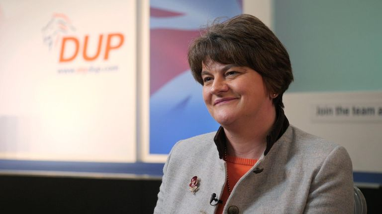 "Arlene Foster says this week's votes in the House of Commons prove the Democratic Unionists are ""still in play"" and ""still have influence."""