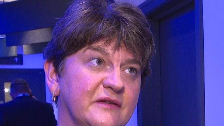 Arlene Foster wants a deal that will be good for Northern Ireland and Ireland