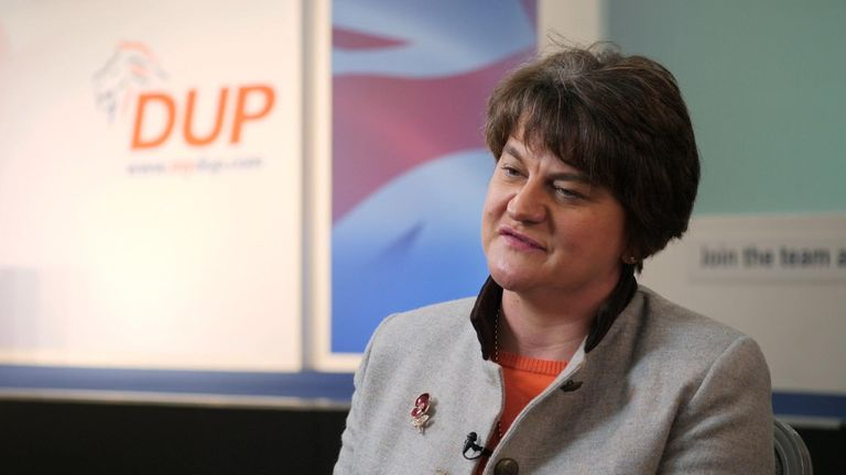 Arlene Foster said the DUP 'still has influence'