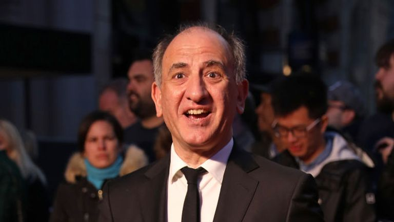 Armando Iannucci has said the 'concept of law has become a movable feast'