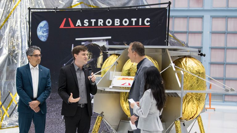 Astrobotic  lunar lander