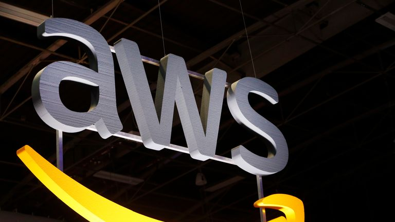 Amazon Web Services runs the cloud storage 'buckets'