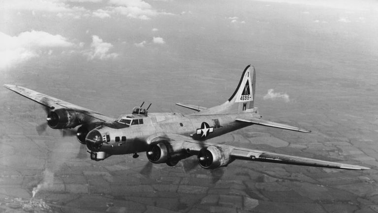 The B-17 was the mainstay of the USAAF's bombing campaign against Germany in WW11