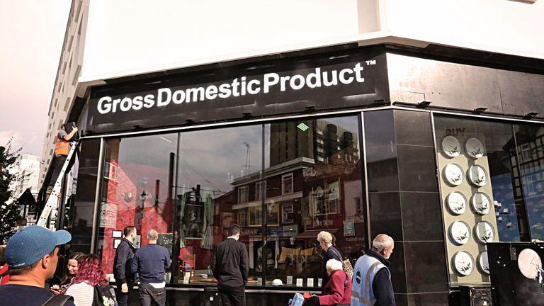 The shop front. Pic: MR FOX CROYDON
