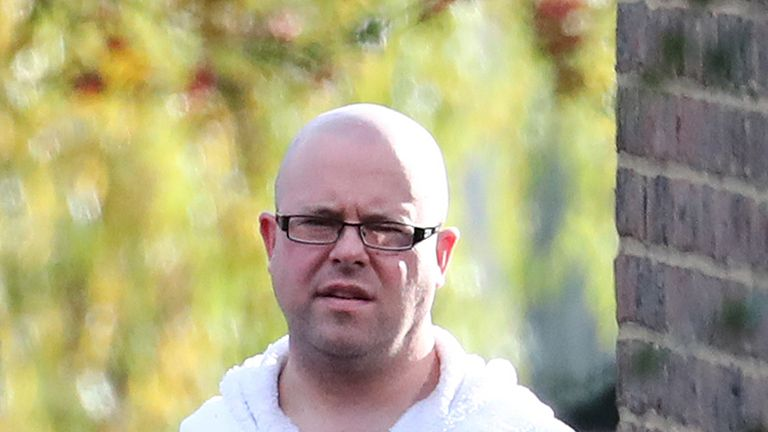 Ben Lacomba is accused of murdering his ex-partner Sarah Wellgreen