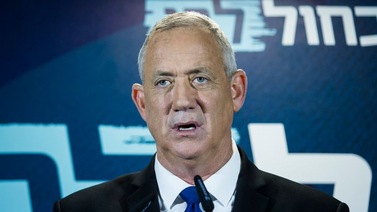 Benny Gantz will now try to form a government