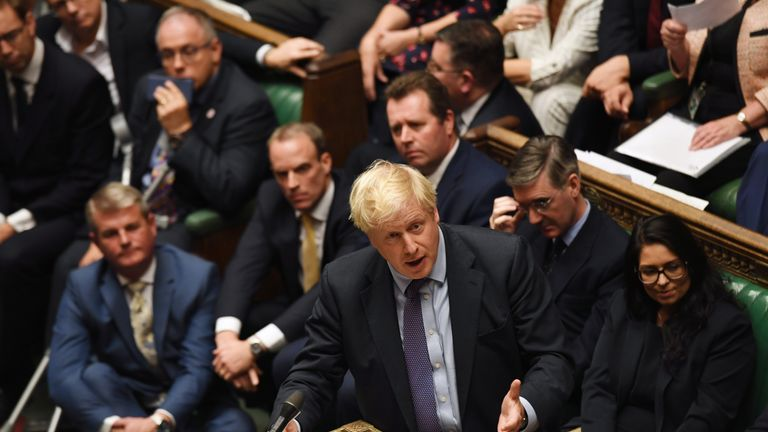 Boris Johnson Pic: UK Parliament/Jessica Taylor