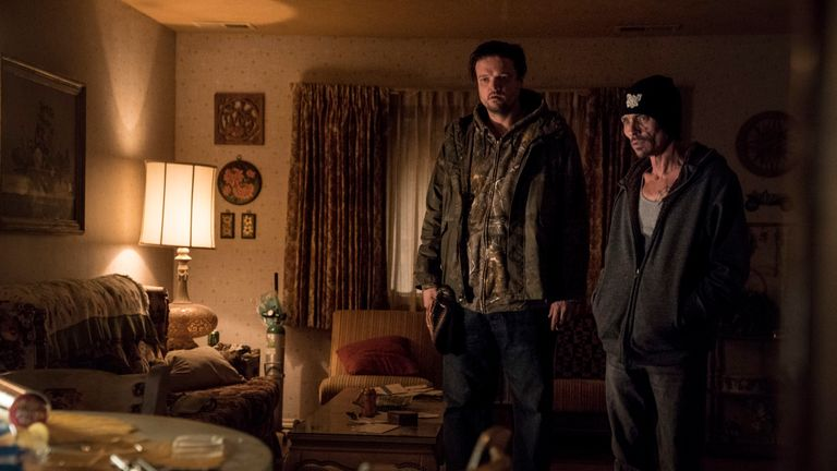 El Camino: A Breaking Bad Movie: Badger and Skinny Pete. Pic: Ben Rothstein / Netflix