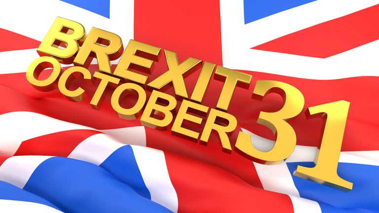 Halloween is now looking an unlikely Brexit date