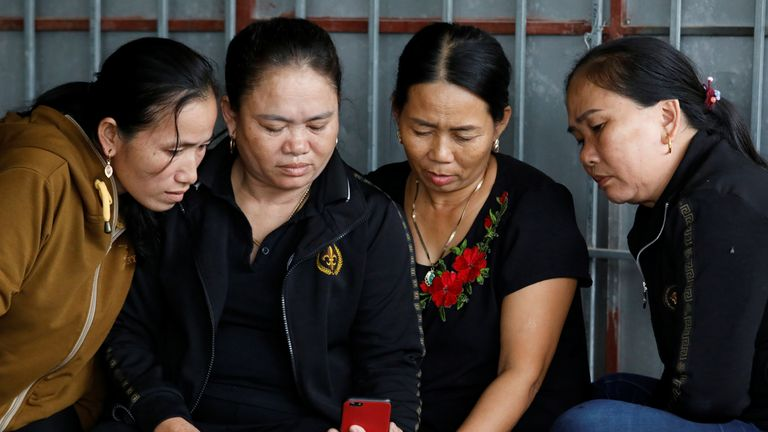 The relatives of Anna Bui Thi Nhung say she wanted to become a nail technician