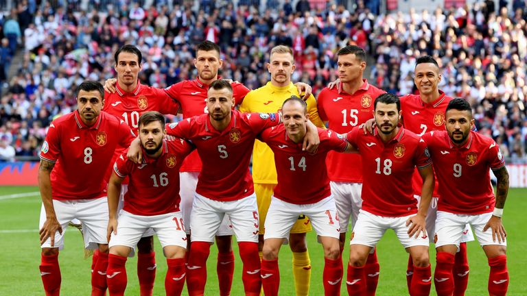 Bulgaria played against England at Wembley in September