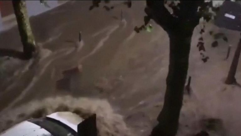 Spain hit by extreme flooding