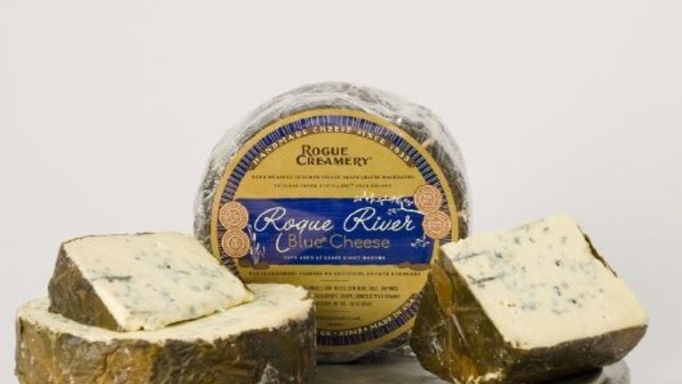 Rogue River blue won first place. Pic: roguecreamery.com
