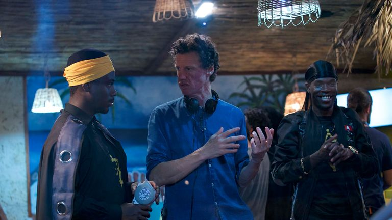 Director Chris Morris merged scripted with improvised comedy for the film